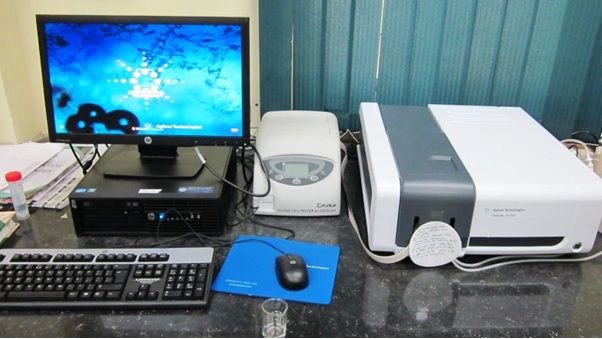 Agilent Cary 60 Spectrophotometer
