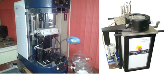 Bruker UMT-2 Tribometer and Wear & Friction Monitor