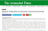 The Arunachal Times dated 24th March, 2017