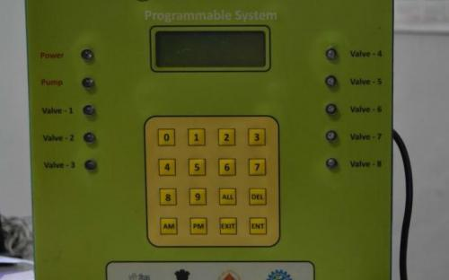 Programmable Irrigation Scheduler