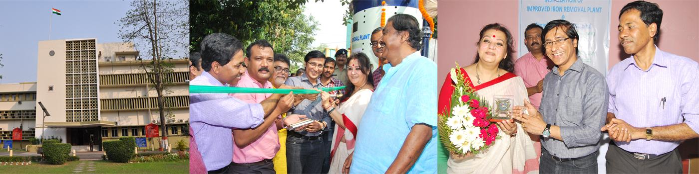 Inauguration of Improved Iron Removal Plant by Hon. Member of Parliament