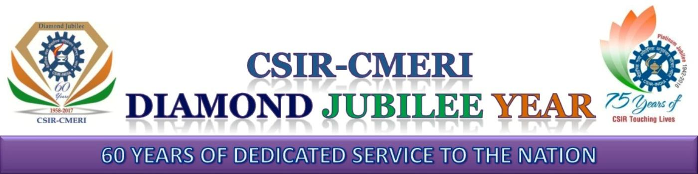 CSIR-CMERI Diamond Jubilee Year Celebration