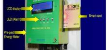 Smart Card Operated Prepaid Energy Meter