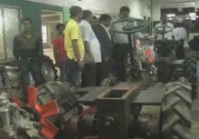 Development of assembly line for 12 HP Krishishakti tractor