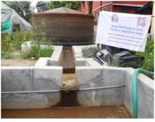 Design and Development of 25m3/ day Biogas Plant at Ramakrishna Mission, Sargachi, West Bengal