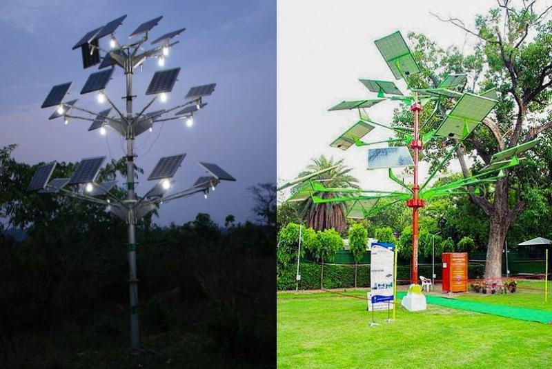 Solar Power Tree Central Mechanical Engineering Research
